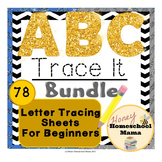 ABC Trace It Mega Pack - Sheets for Students Learning to F