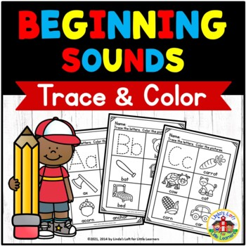 ABC Trace and Color Printables