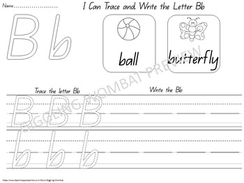 Alphabet ABC Tracing Sheets