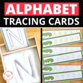 Alphabet Tracing Activities: Letter Practice Cards for Preschool and ECE