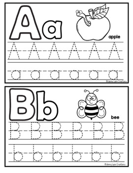ABC Tracing Cards