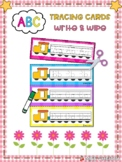 ABC Tracing Cards Write & Wipe - Distance Learning