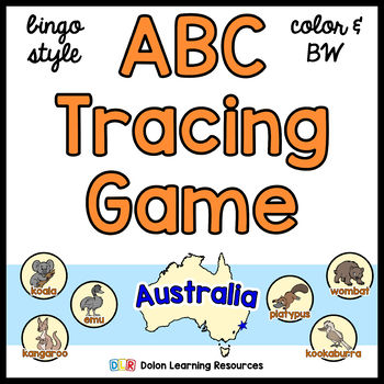 ABC Tracing Game Australia