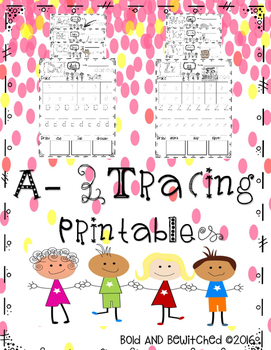 ABC Tracing- Letter Aa