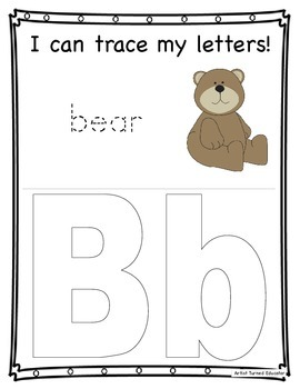 ABC Tracing Letters