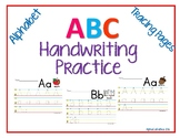 ABC Tracing Pages A-Z