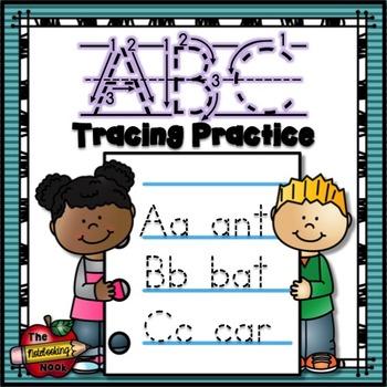 Free Alphabet Tracing Practice