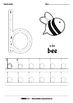 ABC Tracing Worksheets - Lowercase