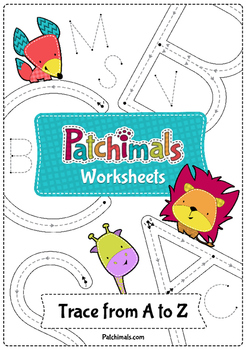 ABC Tracing Worksheets - Uppercase