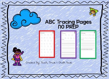ABC Tracing pages