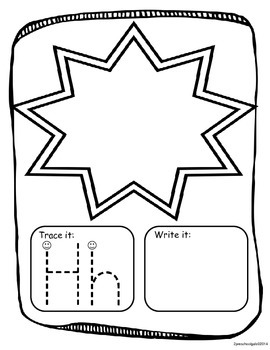 ABC Tracing/Activity Pages
