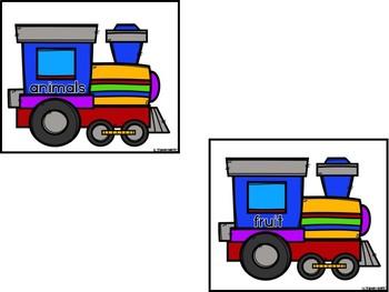 ABC Trains (Alphabetizing)