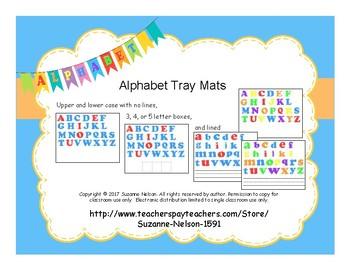 ABC Tray Mats