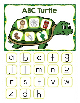 Alphabet - ABC Turtle