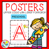ABC Upper Case Posters PRESCHOOL