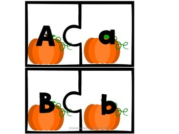 ABC Upper & Lowercase puzzle