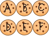 ABC Upper and Lower Case Letter Cookie Jar Match