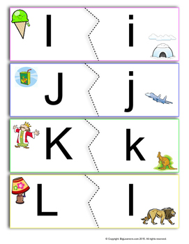 ABC : Uppercase and Lowercase Puzzle