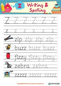 ABC Vocabulary & Handwriting Sheets