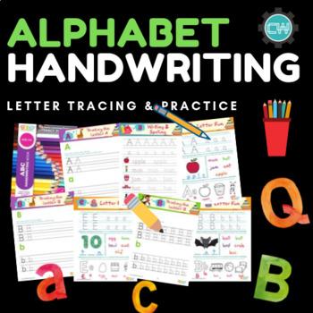 ABC Vocabulary & Handwriting Sheets