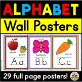 Bulletin Board ABC Wall Cards