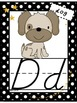 ABC Wall Posters, Set of Small ABC Cards, ABC Strips (Polka Dot and Star theme!)