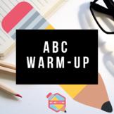 ABC Warm-Up