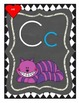 ABC Wonderland Wall Posters - Primary Font