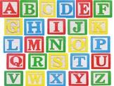 ABC Wooden Blocks Matching Activity