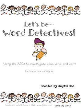 ABC Word Detectives Pack - Common Core Aligned