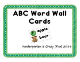 ABC Word Wall Cards