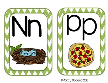ABC Word Wall Headers and First 100 Sight Words