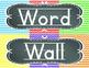 ABC Word Wall Headers in Chevron and Chalkboard