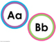 Word Wall ABC Cards for Word Walls