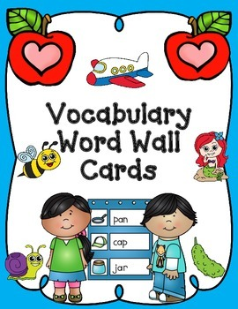 ABC Word Wall Vocabulary Cards