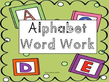 ABC Word Work