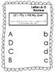 ABC Worksheet Packet