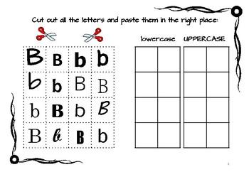 ABC Worksheets Alphabet Practice