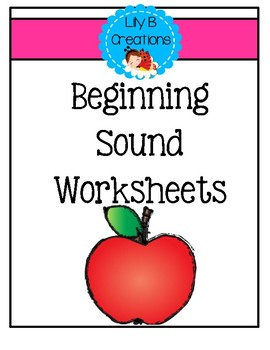 ABC Worksheets ~ Beginning Sounds