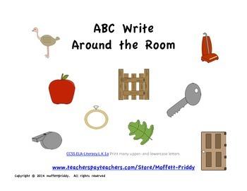 ABC Write Around the Room