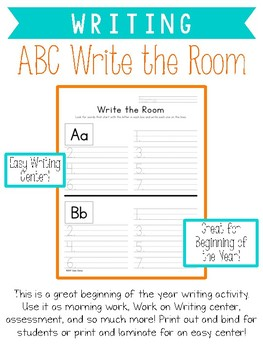 ABC Write the Room