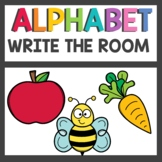Alphabet Write the Room Activities
