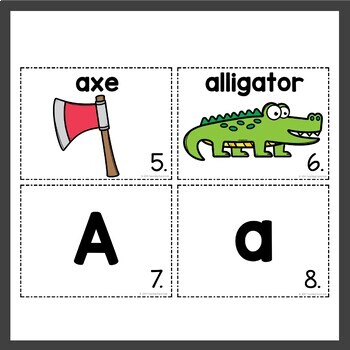 Alphabet Write the Room Activities
