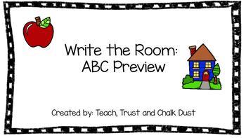 ABC Write the Room BUNDLE