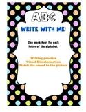 ABC Write with Me!