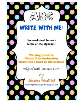 ABC Write with Me!