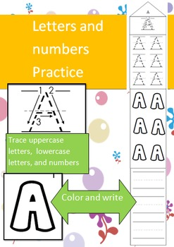 ABC Writing Activities, Practice Uppercase, Lowercase, and