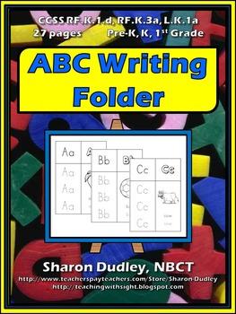 ABC Writing Folder