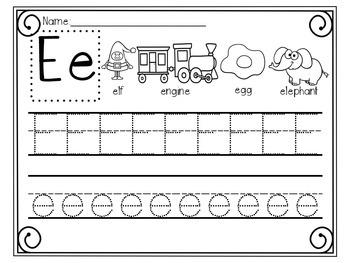 ABC Handwriting Fun Activity