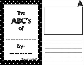 ABC Writing Unit
